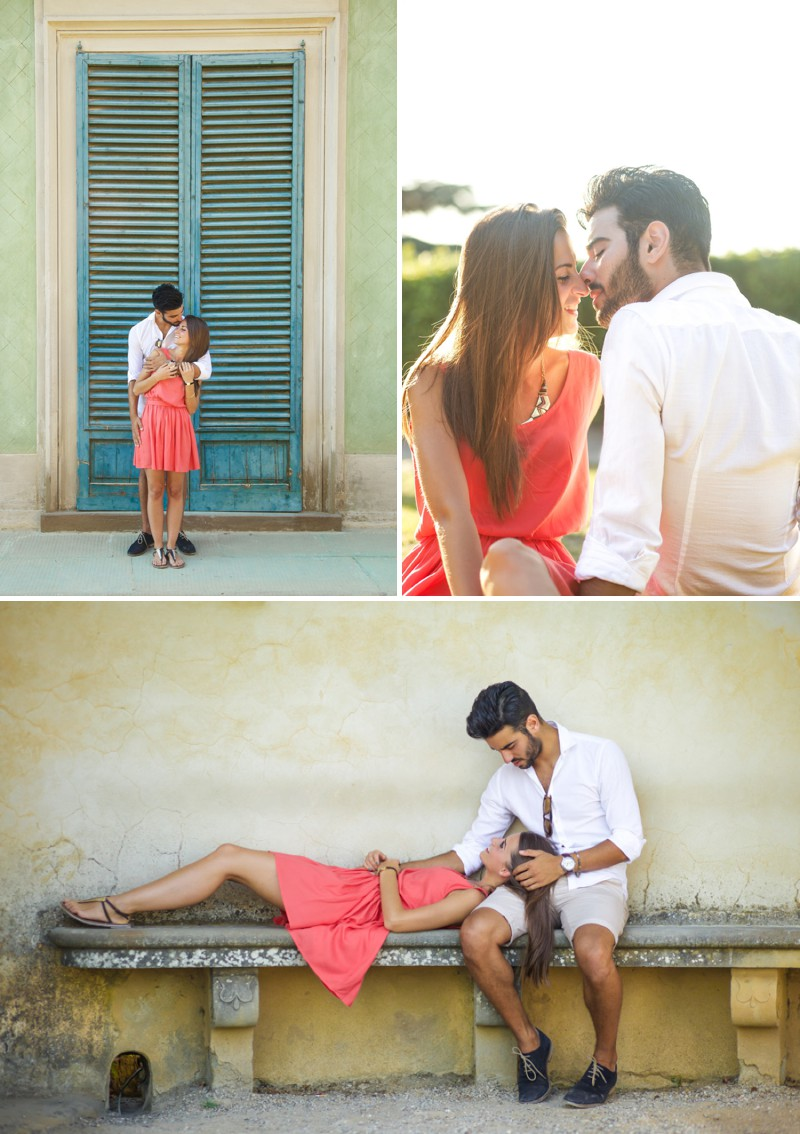 A Beautiful Italian Engagement Shoot In Florence With A Romantic Love Story At Pitti Palace Photographed By Xander & Thea Wedding & Lifestyle Photography._0003