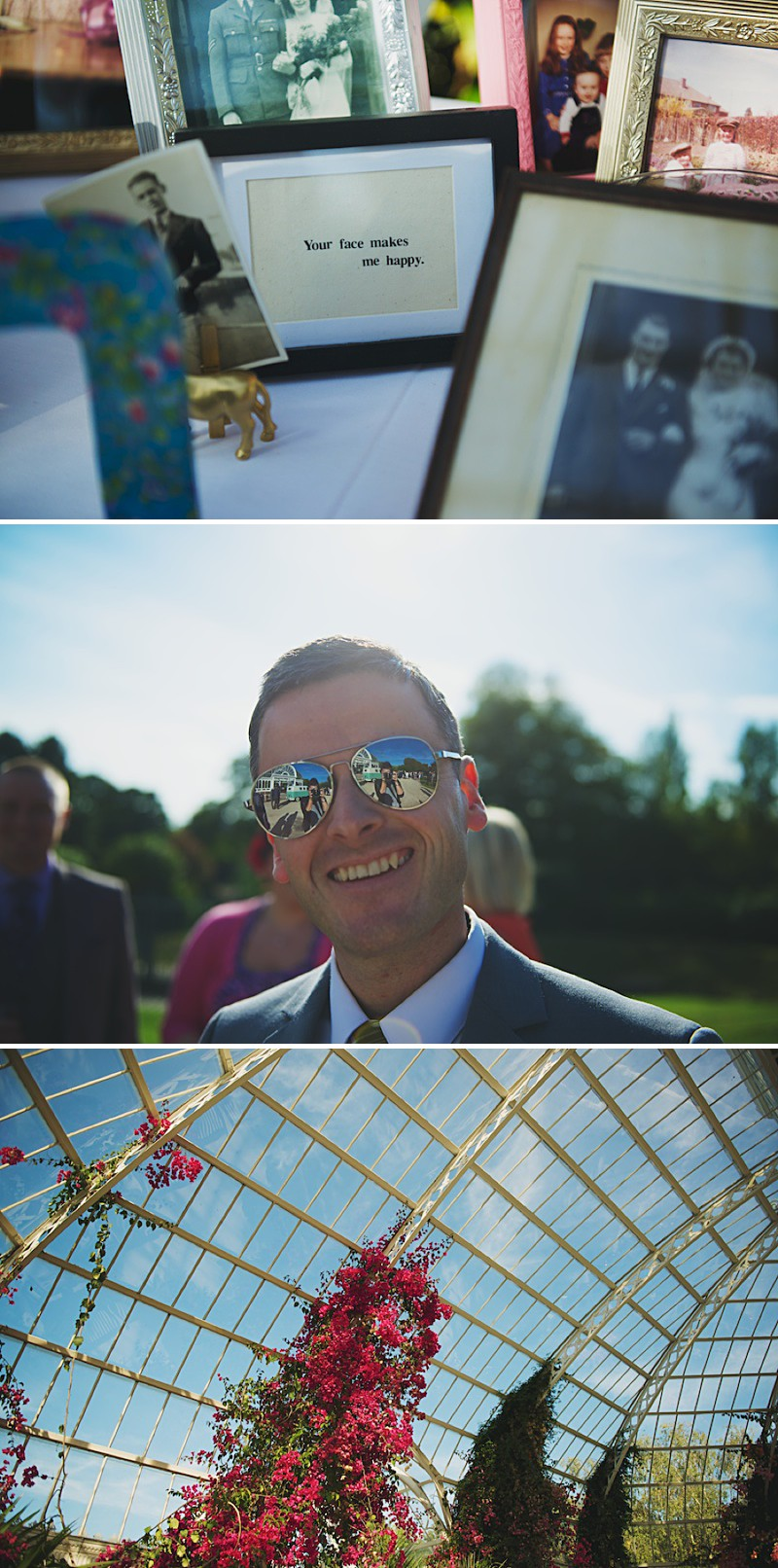 A Bright contemporary wedding with lots of DIY and pastel pink wedding gown. Photography by  Nicola Thompson Photography at Sefton Park Palm House_0009