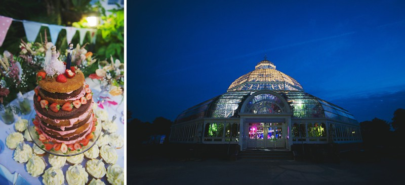 A Bright contemporary wedding with lots of DIY and pastel pink wedding gown. Photography by  Nicola Thompson Photography at Sefton Park Palm House_0014