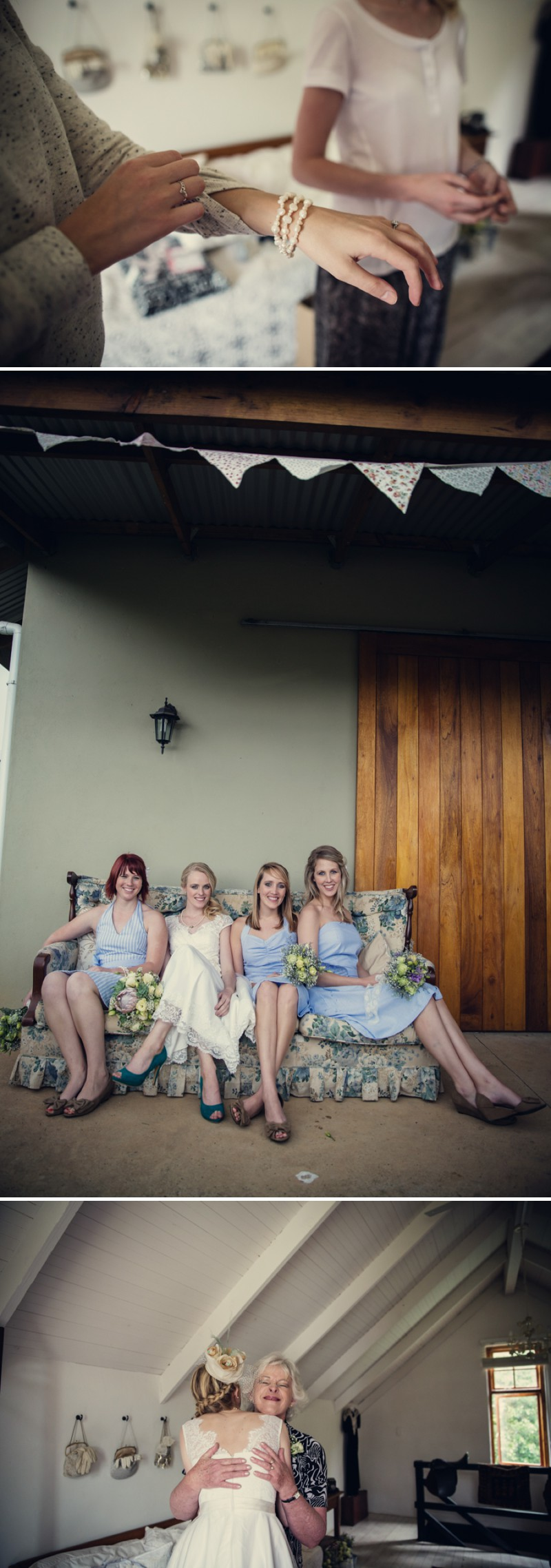 A Rustic Homespun Wedding At The Cairn of Old Kilgobbin In South Africa With A Protea Bouquet And Vintage Dress Photographed By Assassynation._0003
