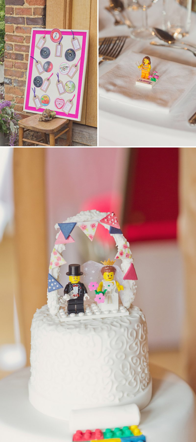 A Rustic Wedding At The Crown Inn Pishill With Bride In Bespoke Lace Gown And Groom In Tweed Suit From Clements And Church With Bunting And An Vintage VW Campervan Images From Cotton Candy Wedding Photography 8