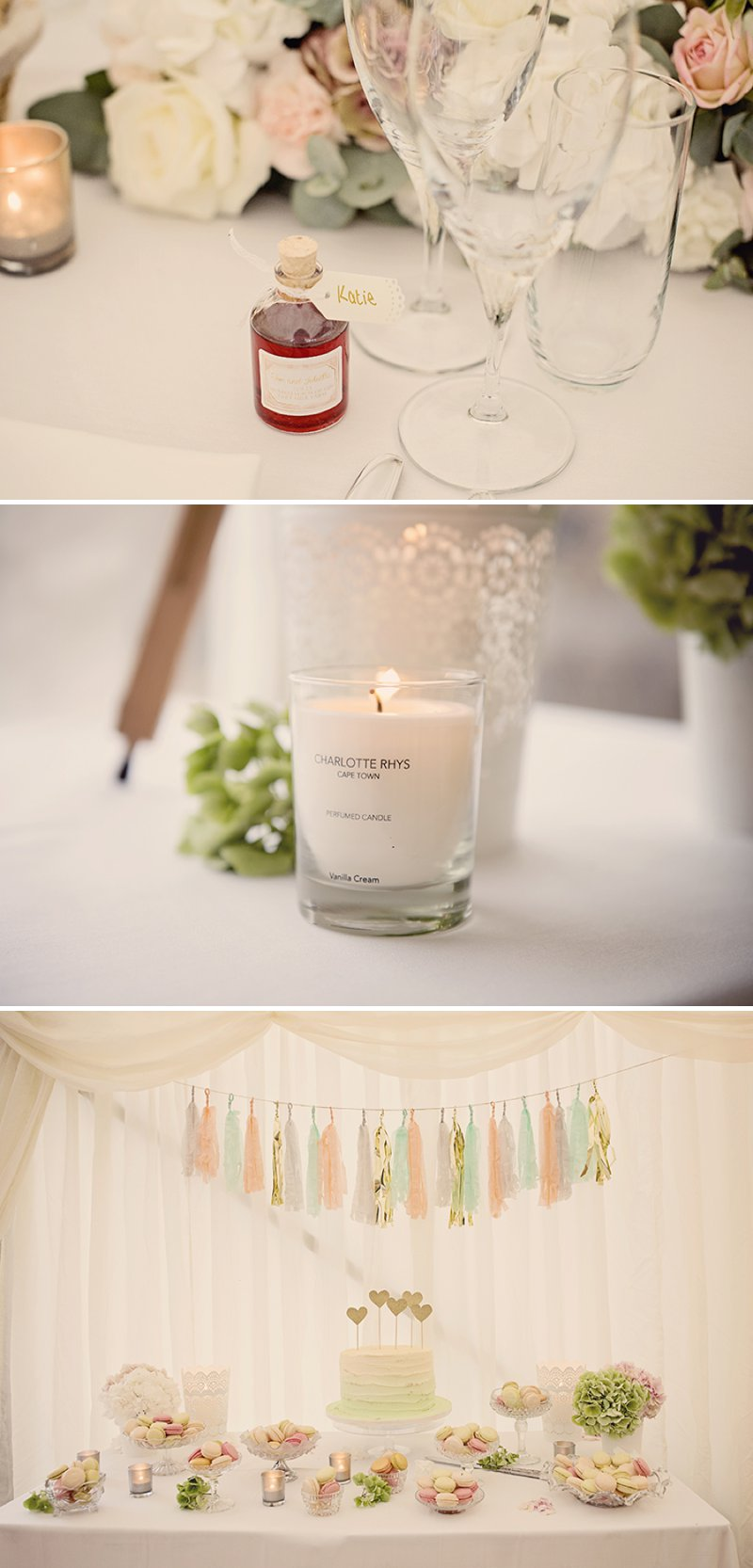 Contemporary Marquee Wedding With A Soft And Romantic Pastel Colour Scheme With Bride In Essense Of Australia Gown And Groom In Tails With Anges De Sucres Macarons And Images By Razia N Jukes Photography 6