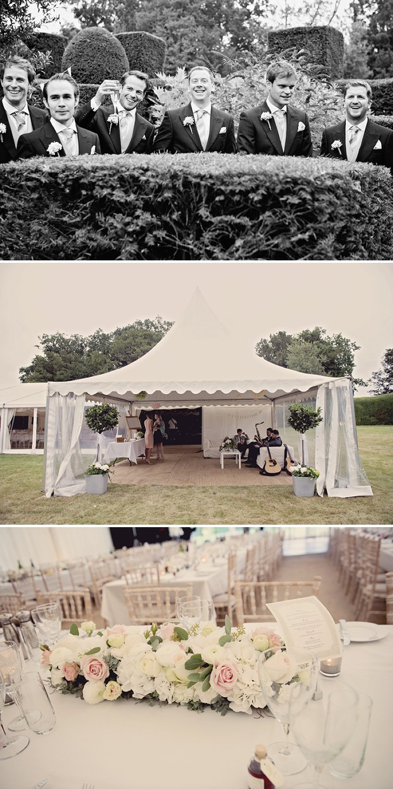 Contemporary Marquee Wedding With A Soft And Romantic Pastel Colour Scheme With Bride In Essense Of Australia Gown And Groom In Tails With Anges De Sucres Macarons And Images By Razia N Jukes Photography 8