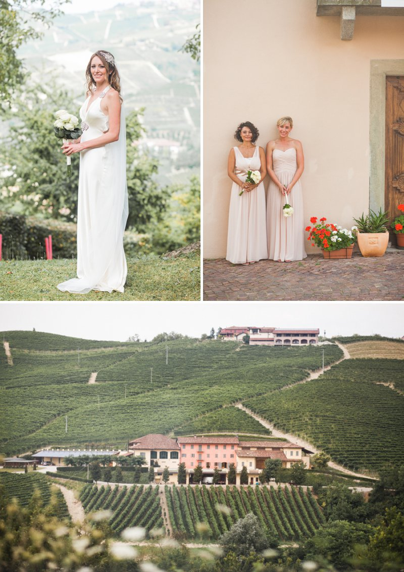 Elegant Wedding In Italy At The Locanda del Pilone Hotel And Restaurant With Bride In Julianne By Jenny Packham And Groom In Tom Ford Suit With A Five Course Italian Banquet 2