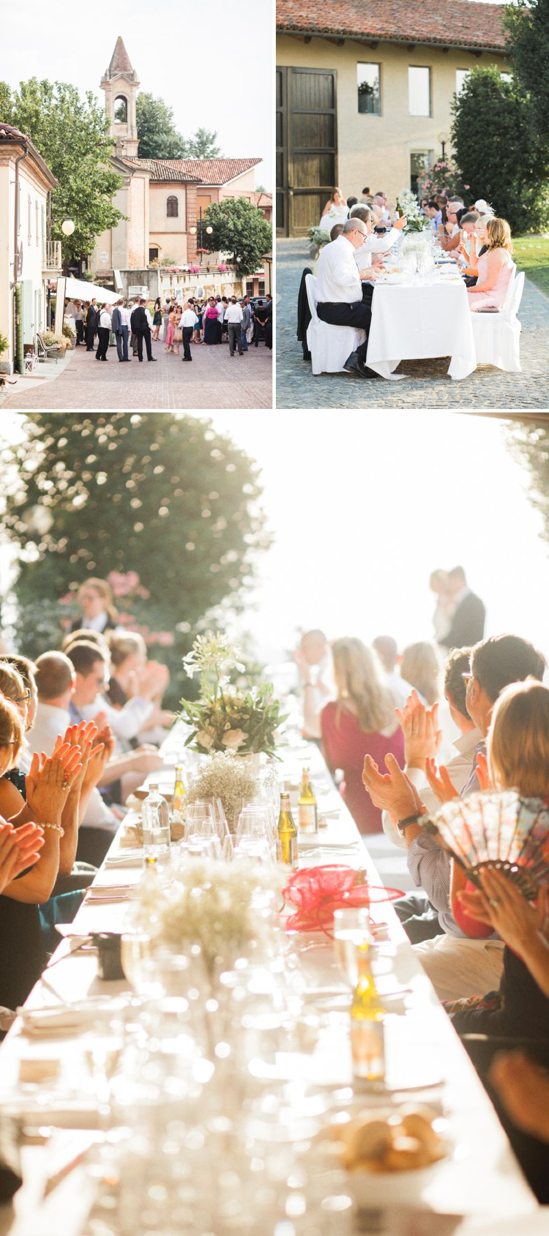 Elegant Wedding In Italy At The Locanda del Pilone Hotel And Restaurant With Bride In Julianne By Jenny Packham And Groom In Tom Ford Suit With A Five Course Italian Banquet 8