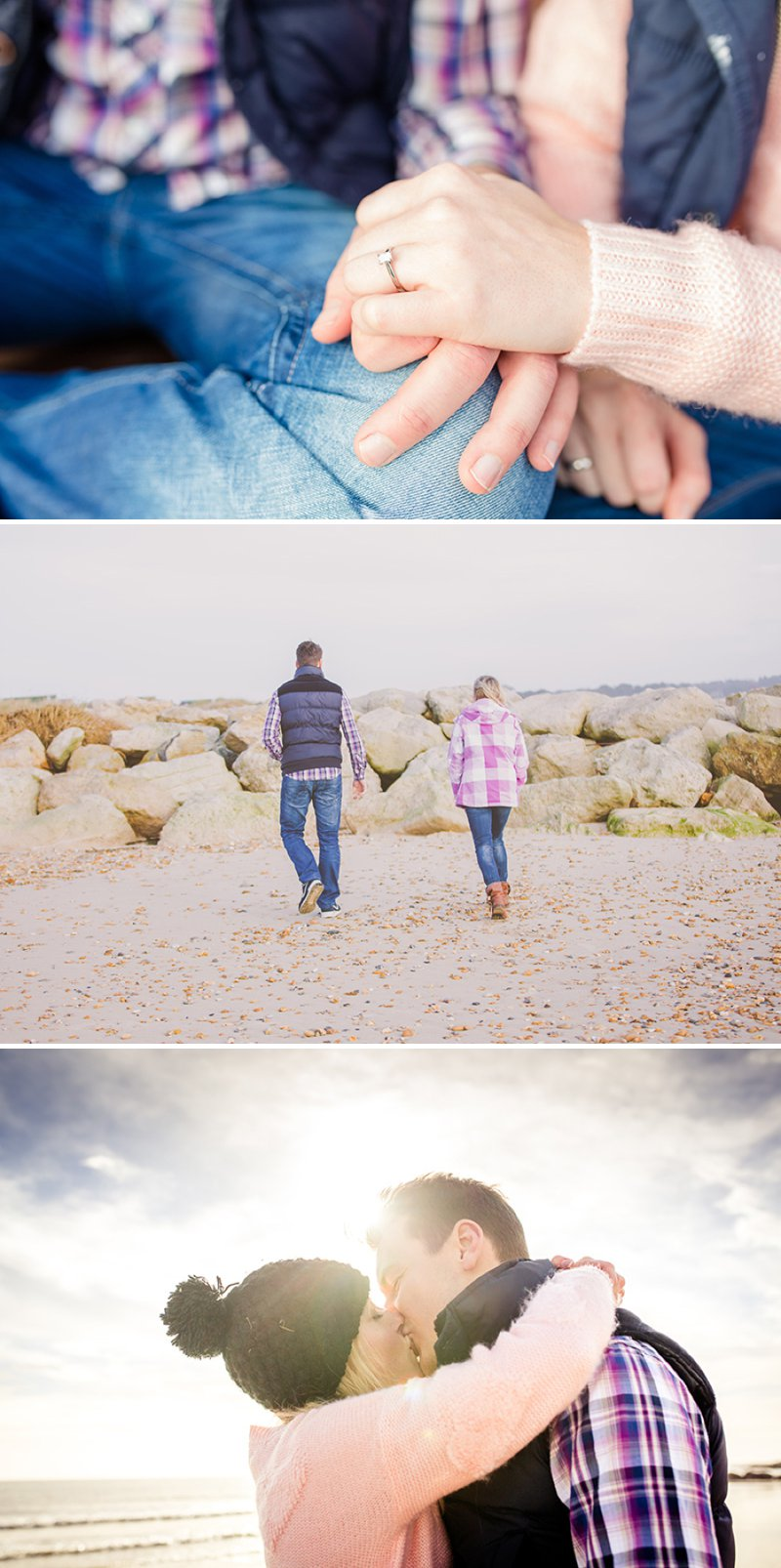 Engagement Shoot On The Beach At Bournemouth With Images From Nick Rutter Photography 1 A Romantic Stroll Along The Beach.