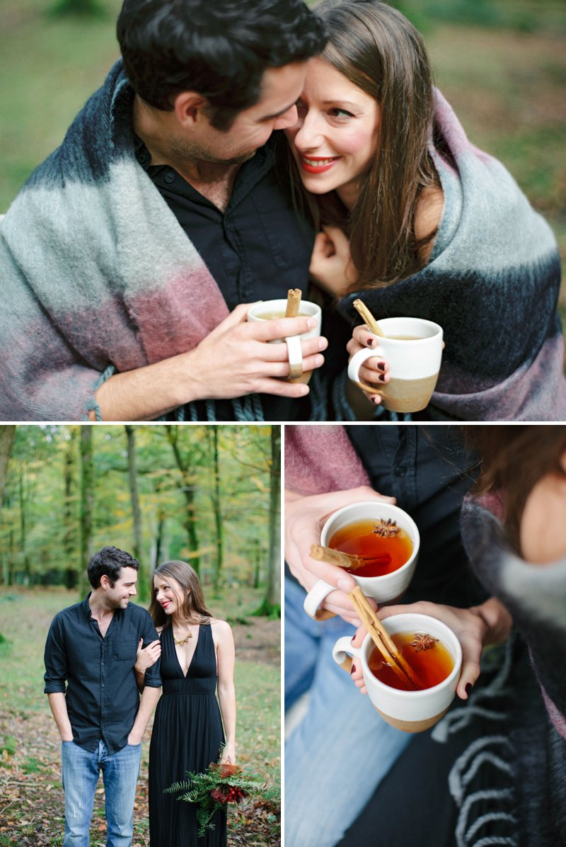 Romantic Prosecco Picnic Engagement Shoot In The Brecon Beacons Image By Millie & Belle Photography 7