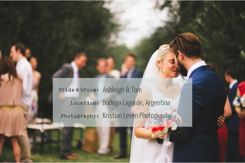 ashandtom An Intimate Wedding In Argentina.