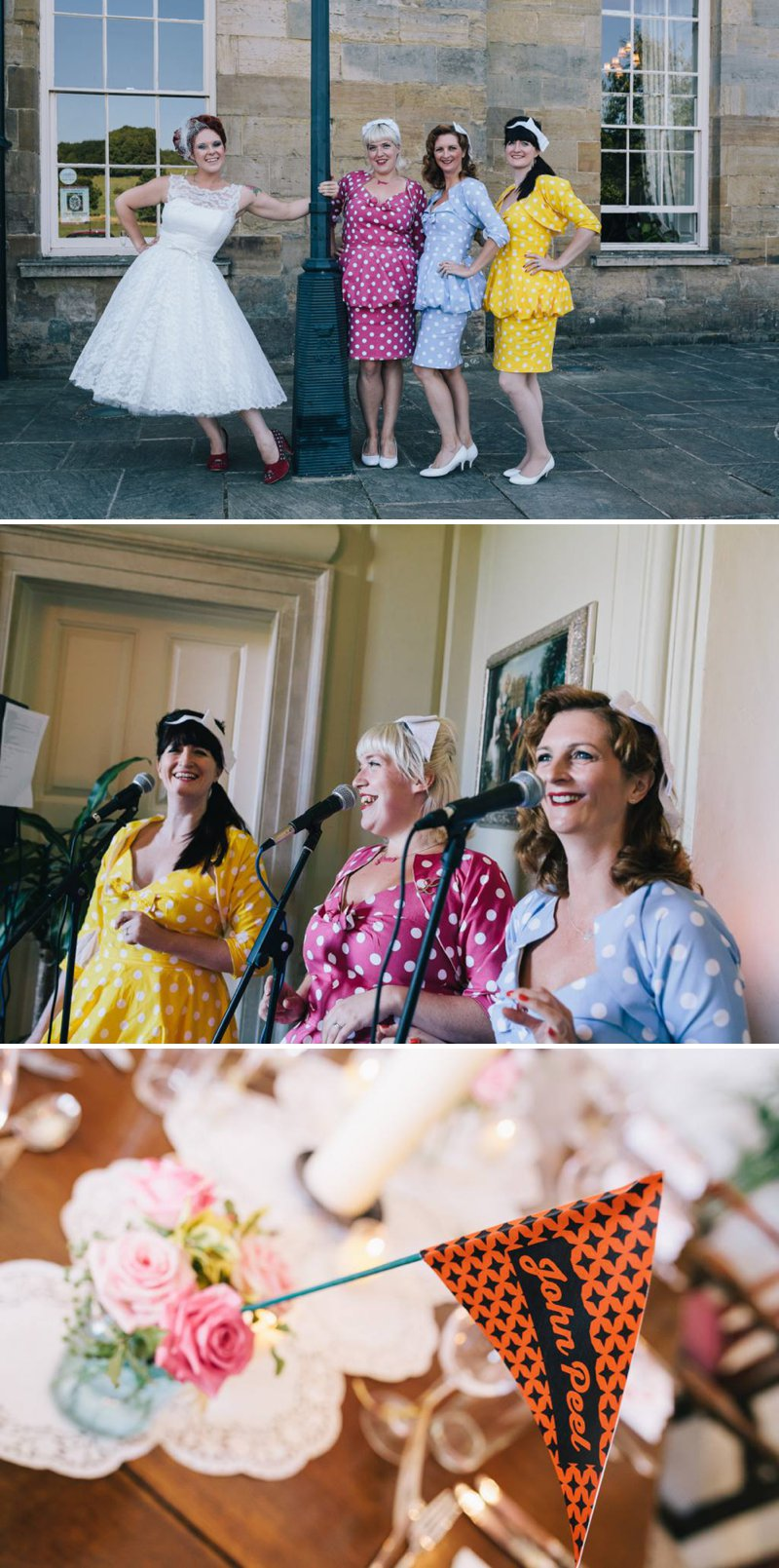 432fc94814c7 50s Mod Inspired Wedding With An Outdoor Ceremony At Brighton Bandstand And  Reception At Stanmer House ...