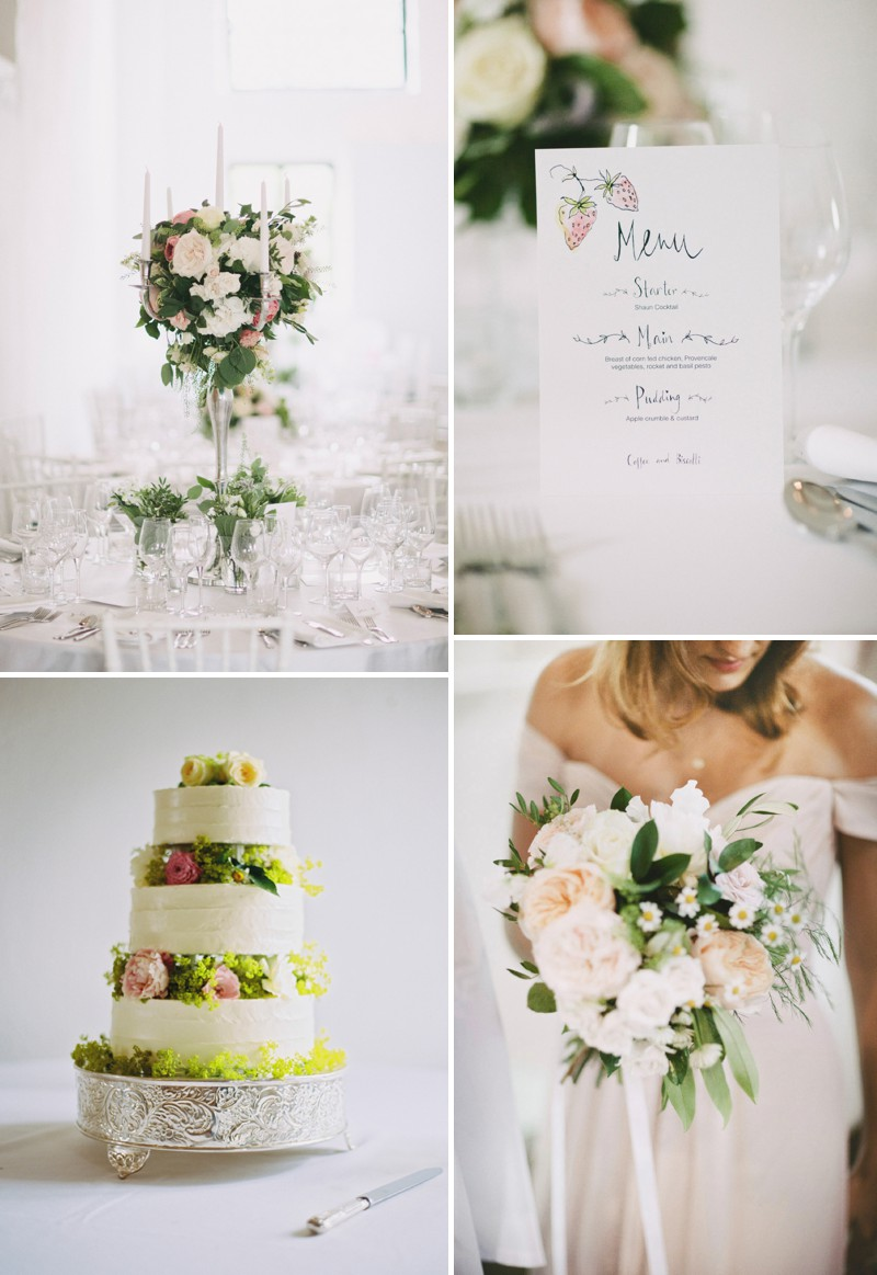 A Beautiful Back Garden Wedding At Merriscourt With A Neutral Pastel Colour Scheme And A Jesus Piero Dress And A Peony Bouquet By David Jenkins Photography._0007