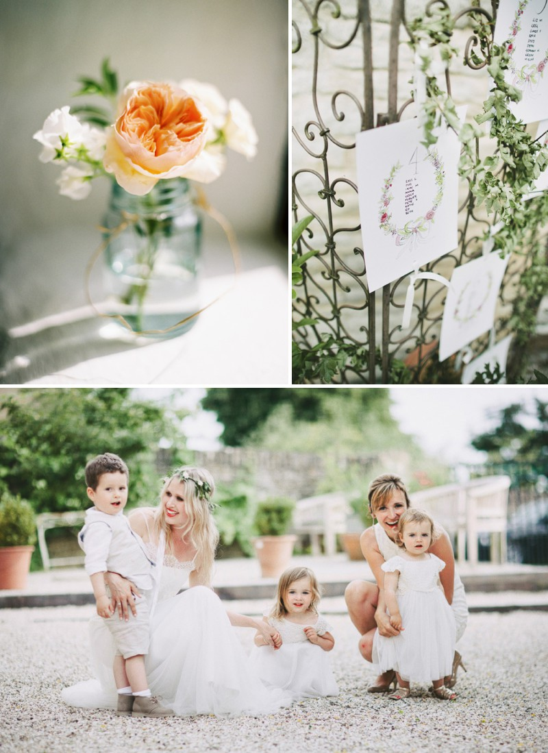 A Beautiful Back Garden Wedding At Merriscourt With A Neutral Pastel Colour Scheme And A Jesus Piero Dress And A Peony Bouquet By David Jenkins Photography._0009