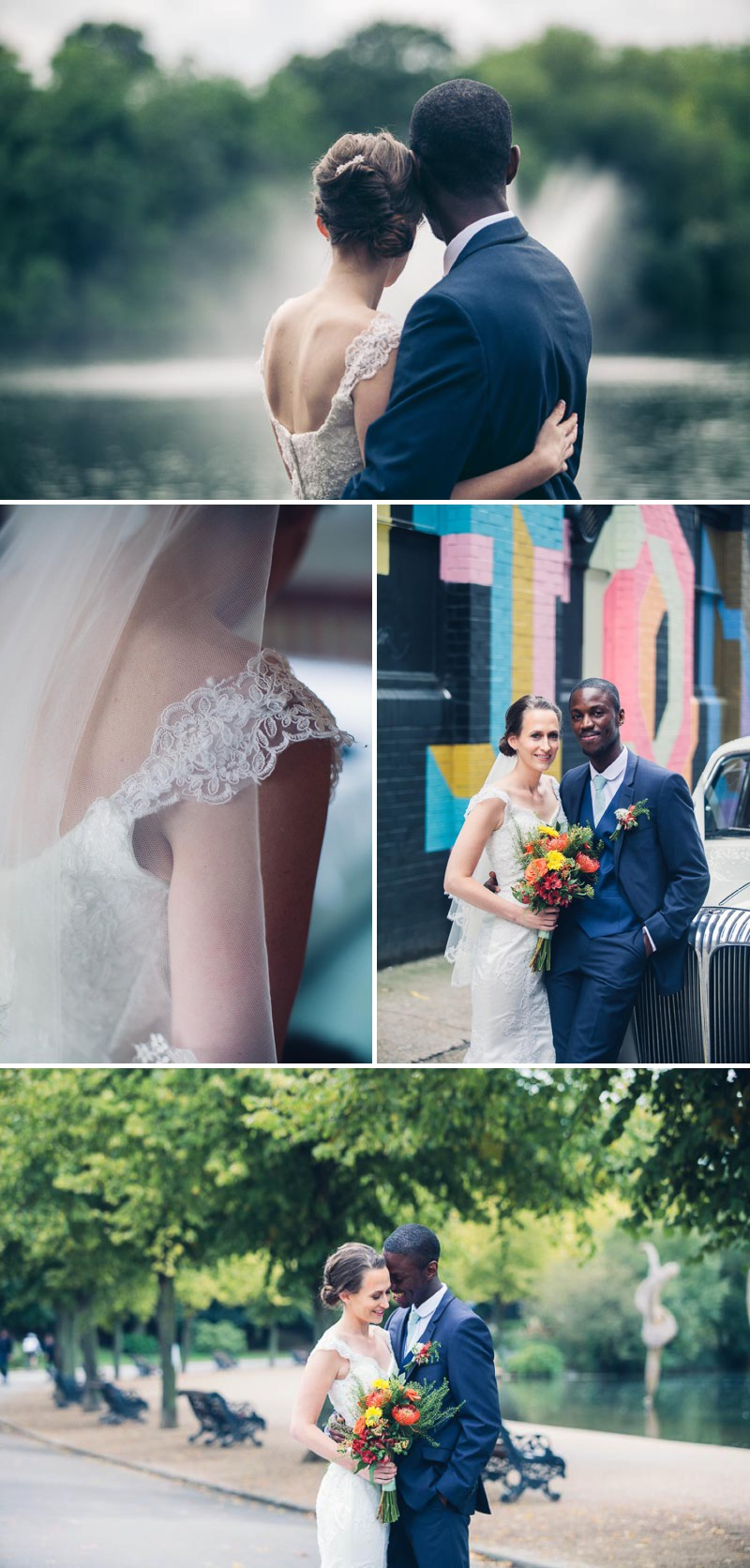 A colourful city london wedding at the west reservoir centre with a colourful city london wedding at the west reservoir centre with red bridesmaid dresses and a ombrellifo Choice Image