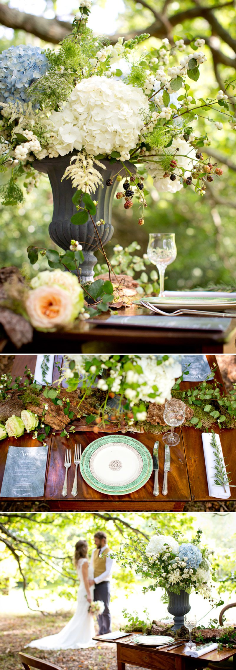 A Pretty Romantic Inspiration Shoot Styled By Sweet Dream Events Showcasing Outdoor Wedding Venues In The New Forest From Cottonwood Weddings With Images From Carrie Bugg Photography 1 If You Go Down To The Woods.
