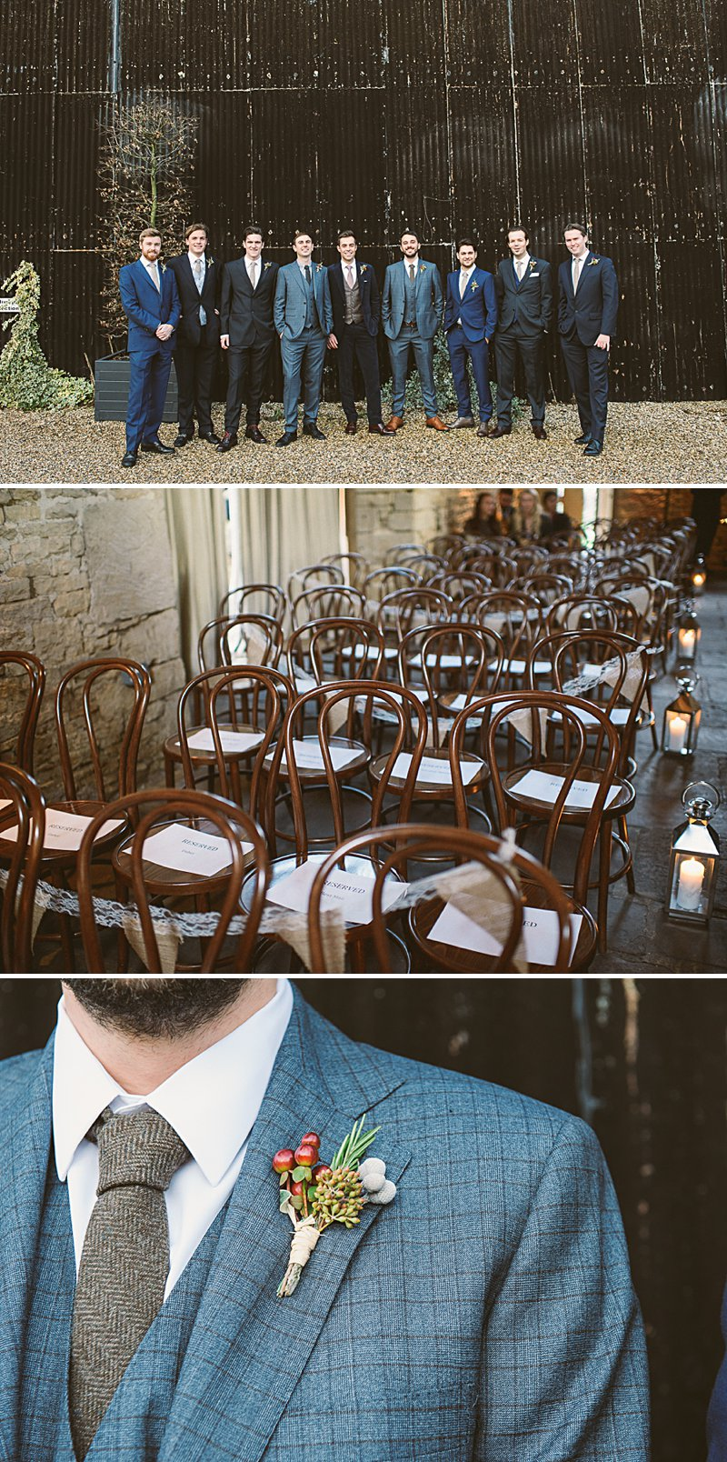 A Rustic Winter Wedding At Cripps Barn With Diy Home Made Decor And
