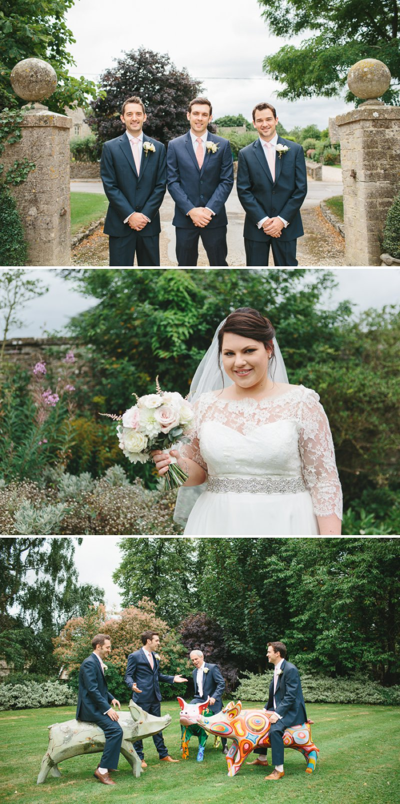 Blush Pink And Gold Glitter Themed Wedding At The Rectory Hotel With Bride In Bespoke Gown By Dana Bolton And Groom In Ted Baker Pashion Suit With Elegant Typography Across The Paper Goods And Images By Shell de Mar Photography 3