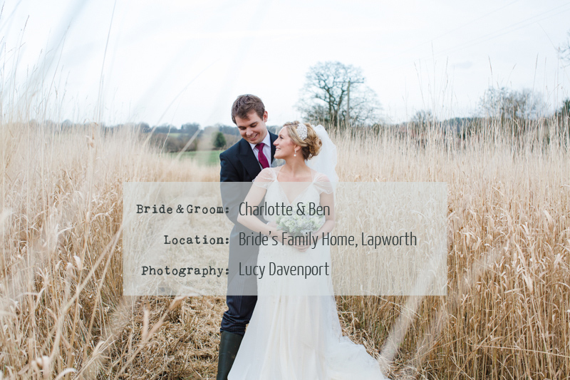 Charlotte And Ben A Warm Winter Rustic Wedding With A Touch Of Glamour.