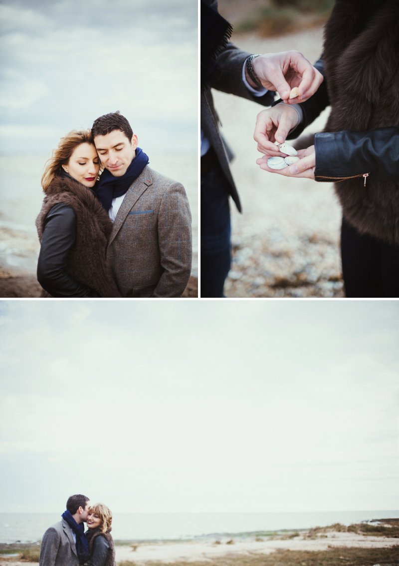 Engagement Shoot In Essex On The Coast With Artistic Photography From Claudia Rose Carter 1 East Coast Glamour.