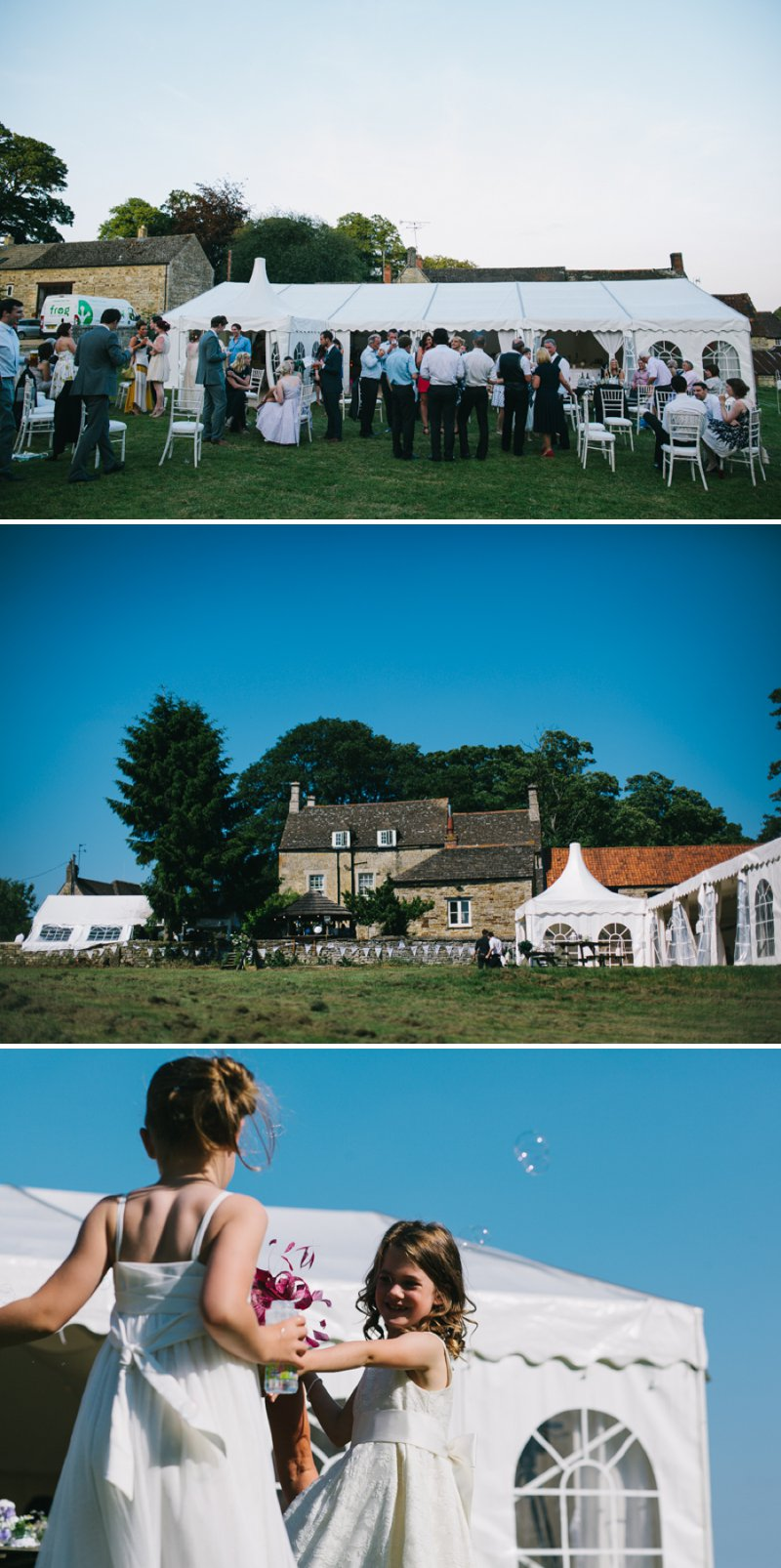 Marquee Wedding With A Pastel Colour Scheme At The Fox And Hounds Inn Rutland With Bride In Bespoke Kula Tsurdiu Gown And Groom In Reiss Suit 5
