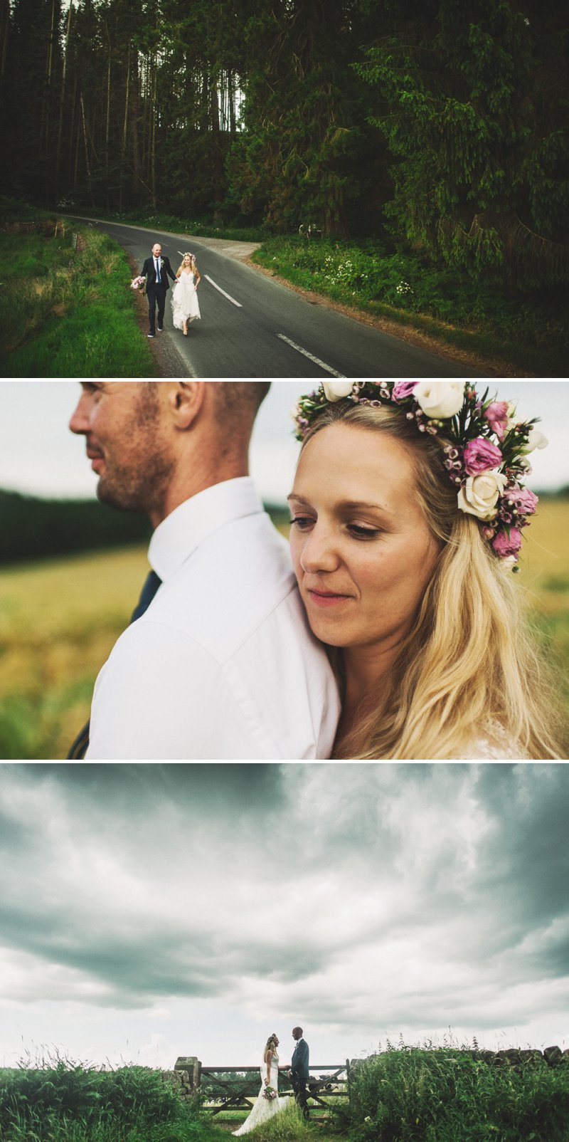 Rustic Marquee Wedding At Mallard Grange In Yorkshire With A Dusty Pink, Cream And Grey Colour Scheme With Bride In Gown From Eternity Bridal With A Vintage VW Camper Van 11