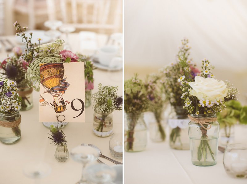 Rustic Wedding At Creslow Manor With Bride In Lace Paloma Blanca Gown With Groom In Morning Dress And Bridesmaids In Floral Print Dresses And Roses And Gypsophila In Bouquets Images By Joseph Hall 8