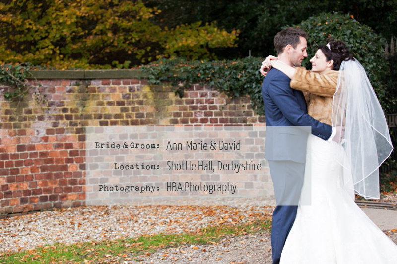 annmarieanddavid An Elegant Autumnal Wedding At Shottle Hall.