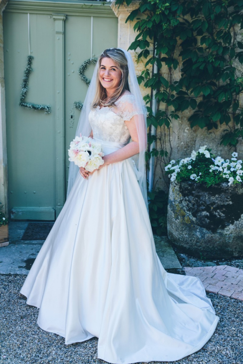 Black Tie Destination Wedding In France With A Couture Morgan Davies