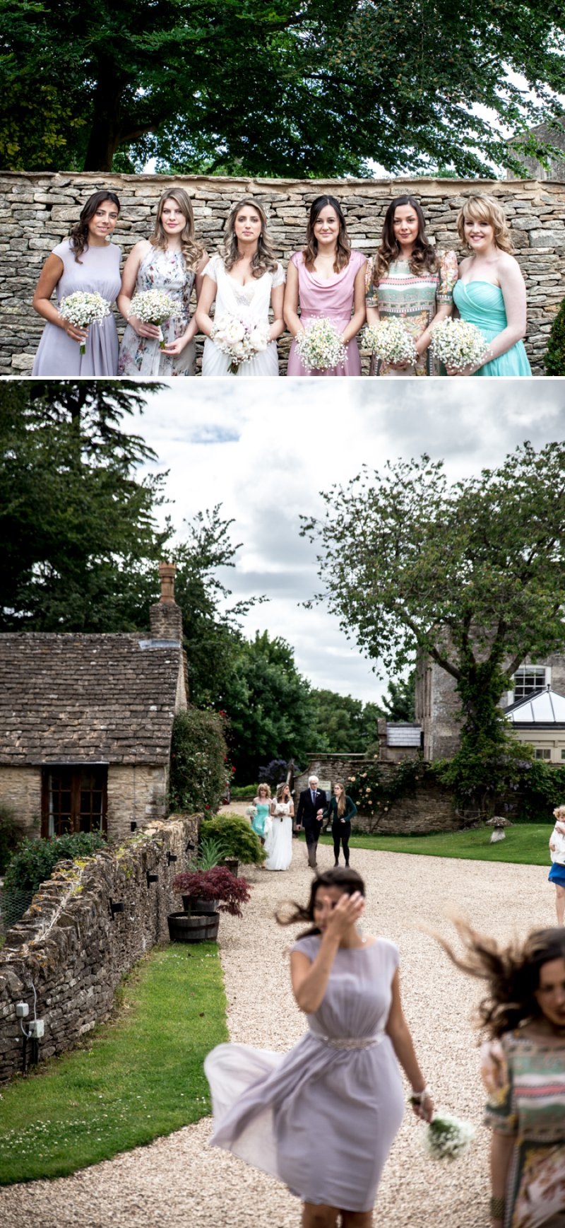 A Pretty Barn Wedding In The Cotswolds At The Great Tythe Barn With Bride In Pronovias And Groom In Reiss With Decor From The Vintage Hire And Images From Richard Jones Photography2