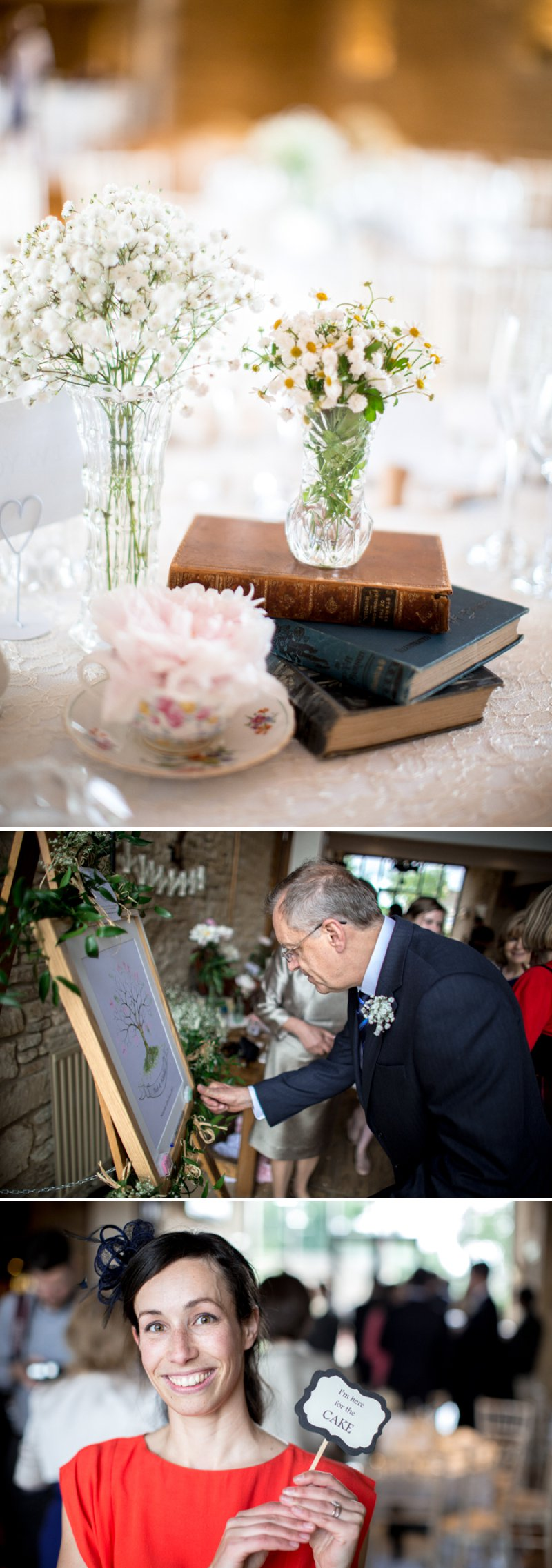 A Pretty Barn Wedding In The Cotswolds At The Great Tythe Barn With Bride In Pronovias And Groom In Reiss With Decor From The Vintage Hire And Images From Richard Jones Photography6