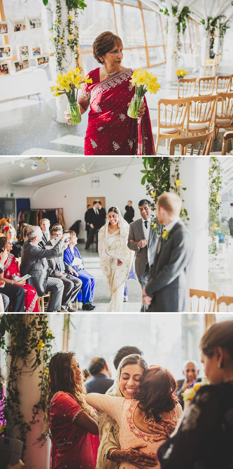 A Contemporary London Wedding With Vintage And Handmade Details With ...
