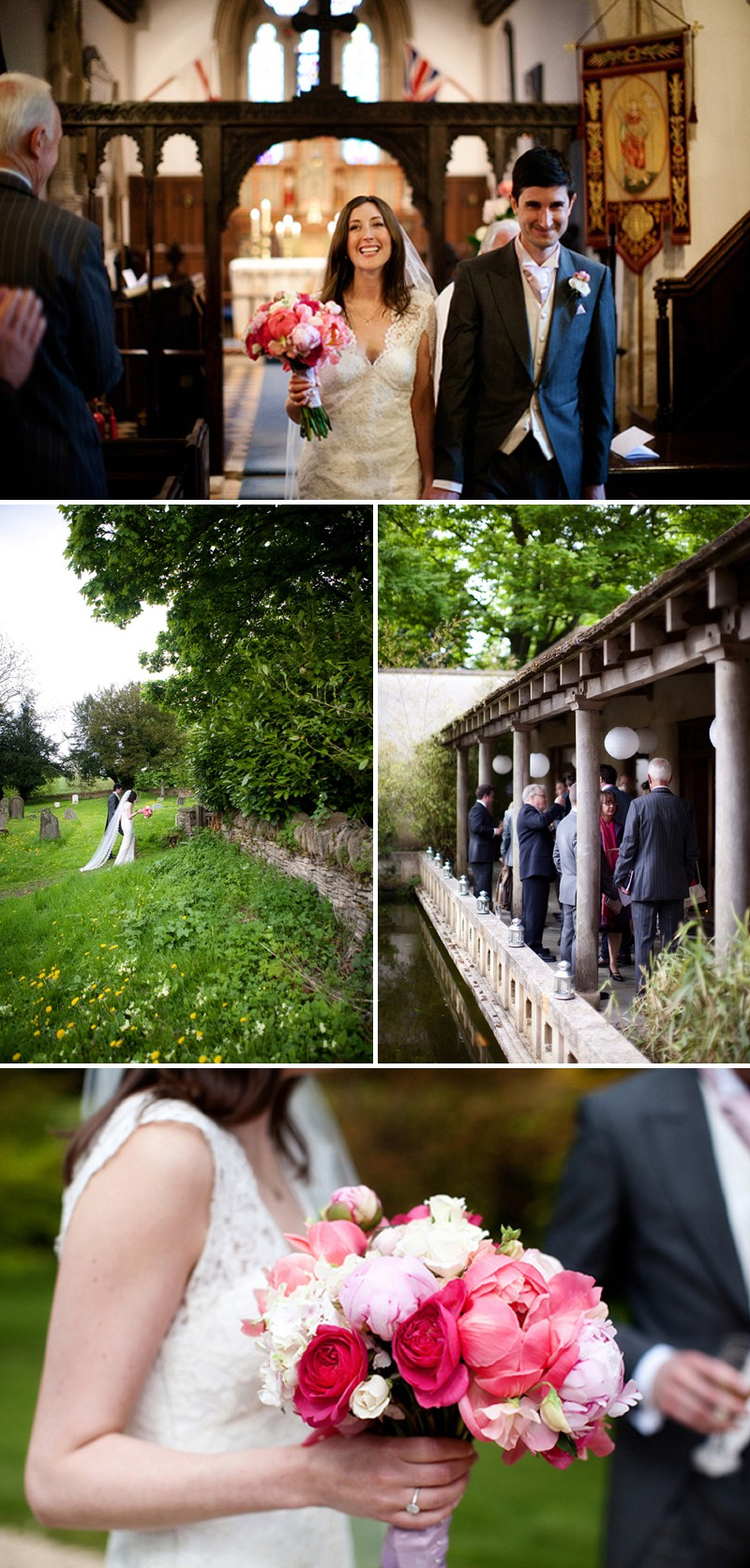 Elegant English Wedding At The Matara Centre In The Cotswolds With A Jenny Lessin Dress And A Pink Bouquet By Lillian & Leonard Wedding Photography._0006