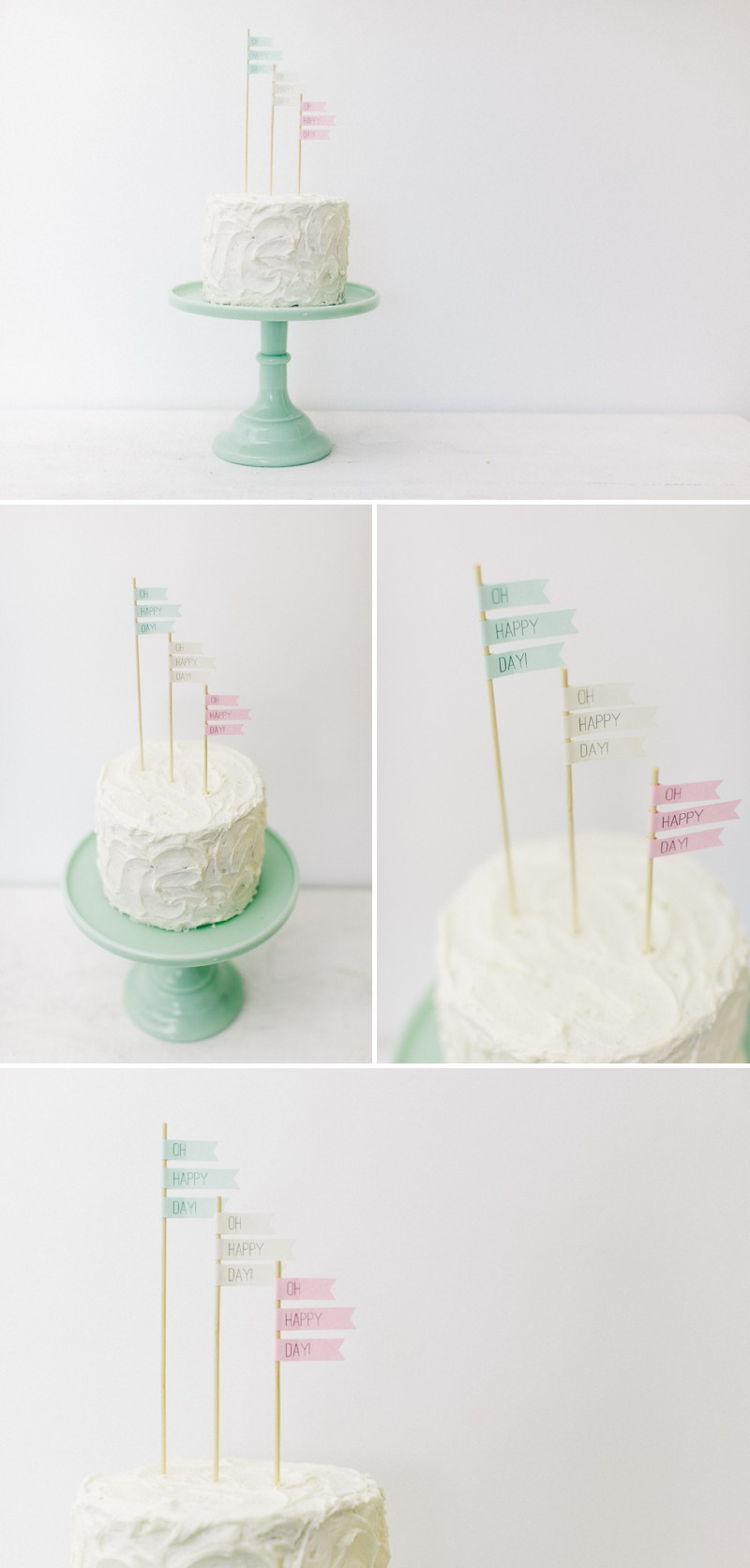 How to create your own Flag Cake Toppers For Your Wedding ...