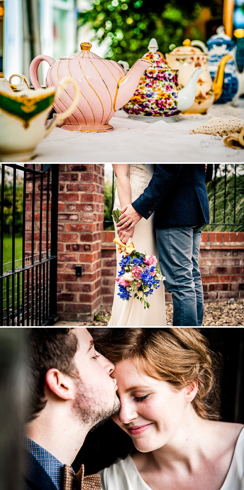 Rustic Backyard Wedding With Bride In Elegant Rapsimo Dress And Groom In Wool Suit And Bowtie With Lots Of Home Made Details And A High Tea Wedding Breakfast 1 Tea And Cake.