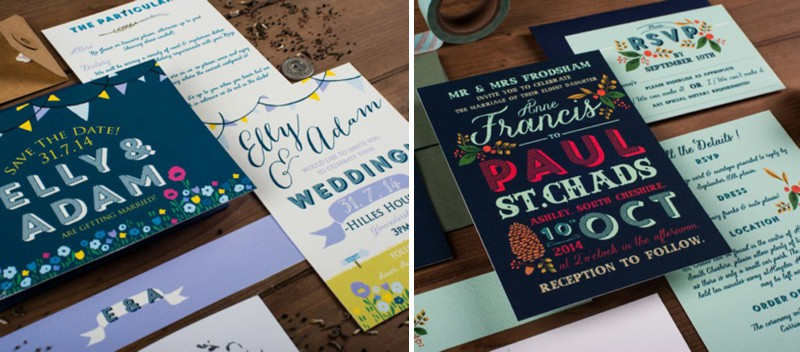 The Charming Press is a small design studio based in Cheshire, specialising in charmingly illustrated wedding stationery._0001