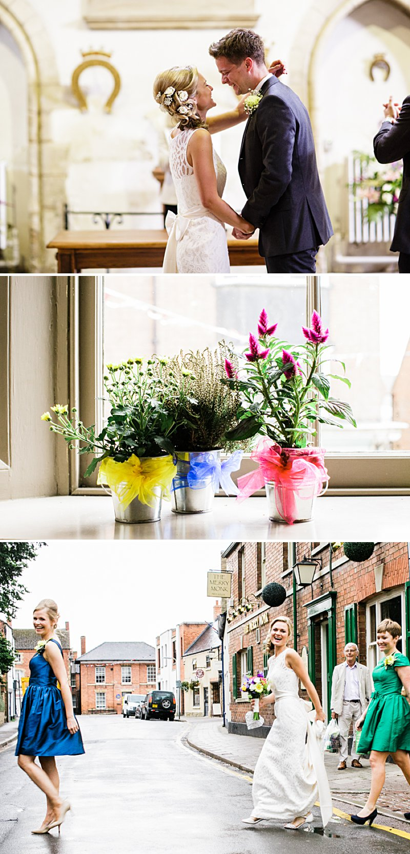 A fun foody Wedding At Victoria Hall With An After Six Dress by Dessy And Groom In Hugo Boss Suit By Lucabella Photography. 0001 A Family Feast.