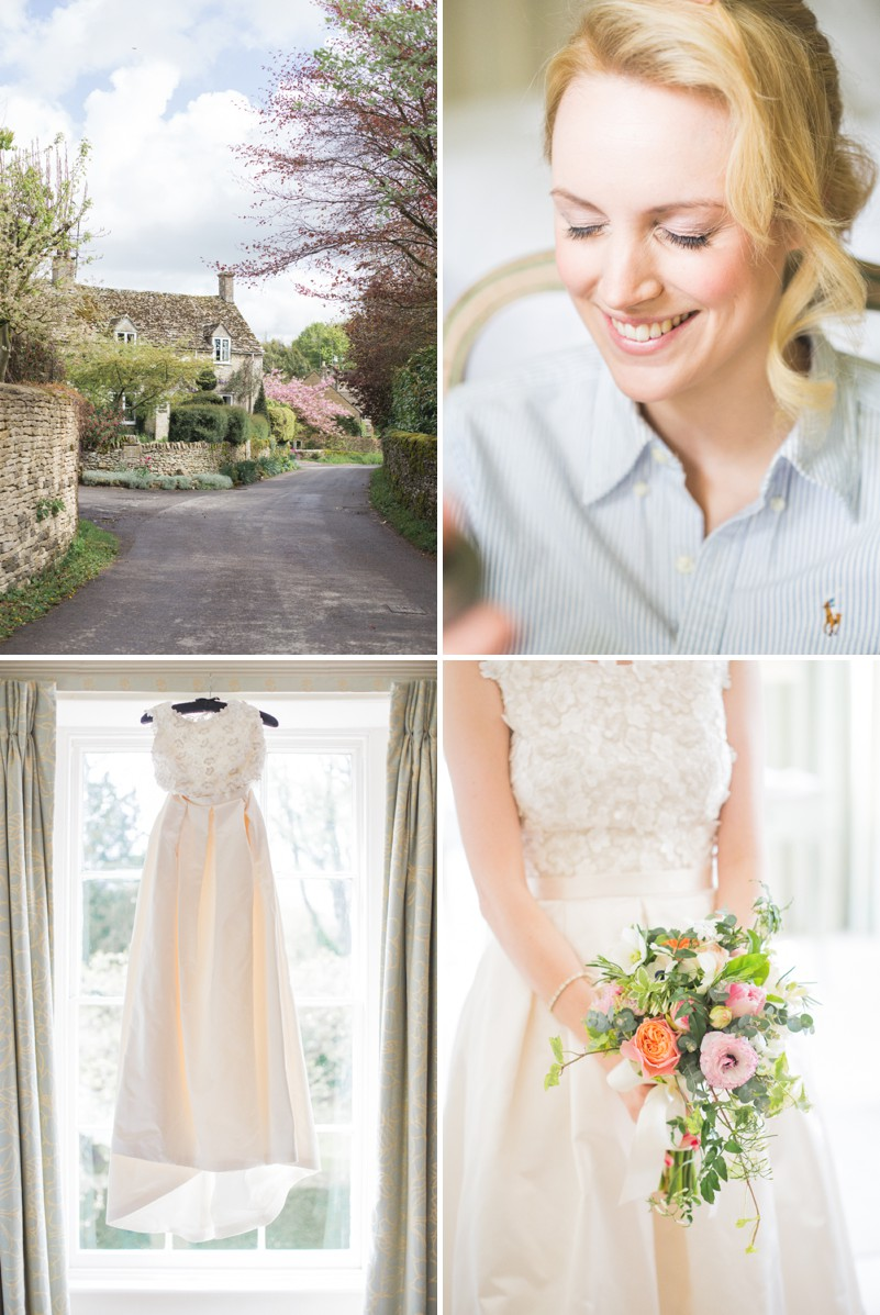 An Elegant English Wedding At The Matara Centre In The Cotswolds With A Bespoke Jenny Lessin Wedding Skirt and Top And Hot Pink Bridesmaid Dresses And A Gin And Tonic Cocktail Bar By M&J Photography._0002