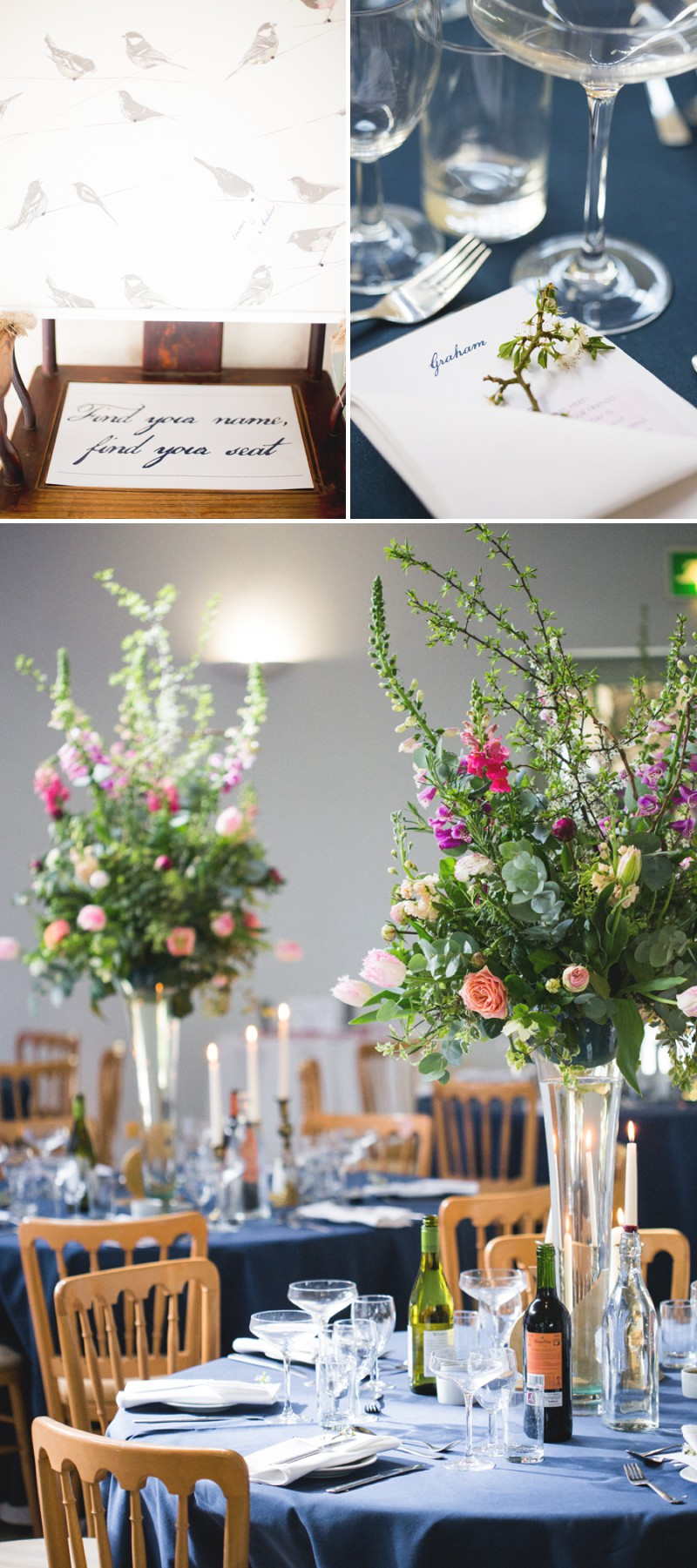 An Elegant English Wedding At The Matara Centre In The Cotswolds With A Bespoke Jenny Lessin Wedding Skirt and Top And Hot Pink Bridesmaid Dresses And A Gin And Tonic Cocktail Bar By M&J Photography._0011