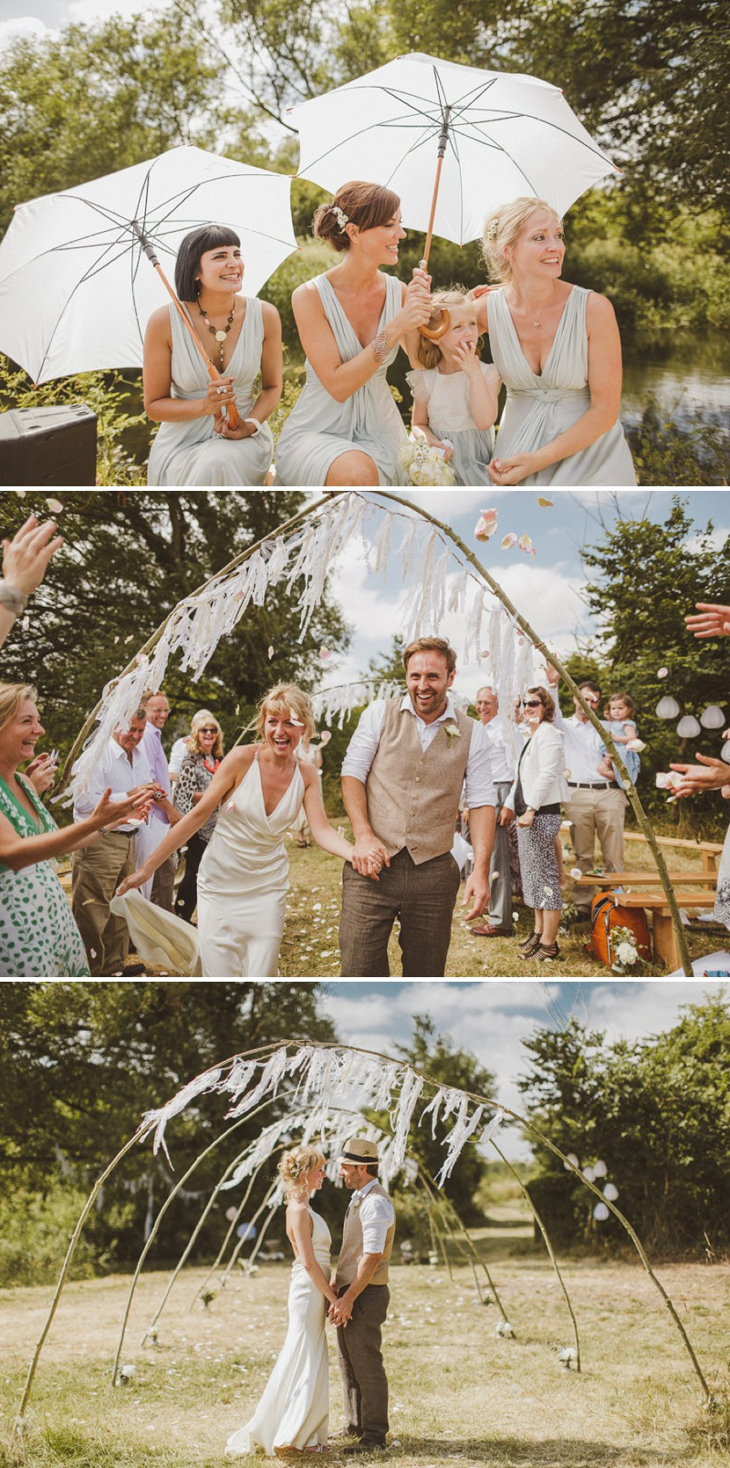 An Epic DIY Bohemian Wedding At Ratfyn Farm With A Jenny Packham Dress And A Humanist Ceremony And A Peach Colour Scheme Photographed By Ed Peers._0005