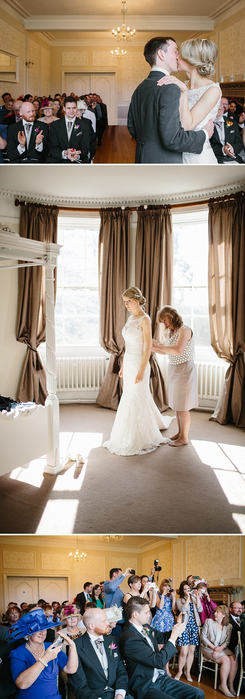 An elegant welsh wedding at Eastington park with a vintage country theme and a lace fishtail justin alexander wedding dress with spring flowers and a tupli bouquet_0114