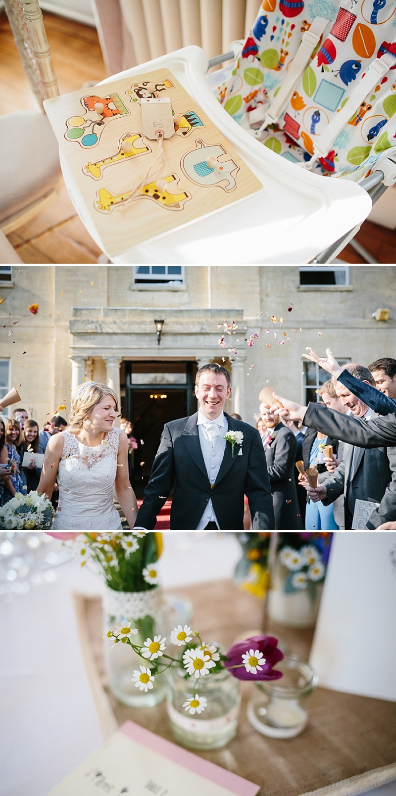 An elegant welsh wedding at Eastington park with a vintage country theme and a lace fishtail justin alexander wedding dress with spring flowers and a tupli bouquet_0117