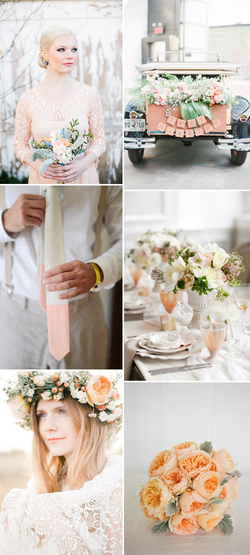 Ruffled - photo by http://www.loragradyphotography.com/ - http://ruffledblog.com/georgia-peach-wedding-inspiration/