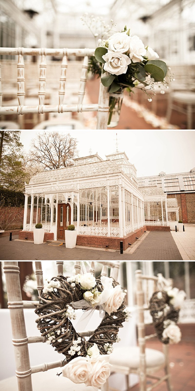 Laid Back London Wedding At The Horniman Museum With A Peach And Rose Gold Colour Scheme With Bride In Adagio By Claire Pettibone With Bridesmaids In Nude Dresses From Miss Selfridge 2