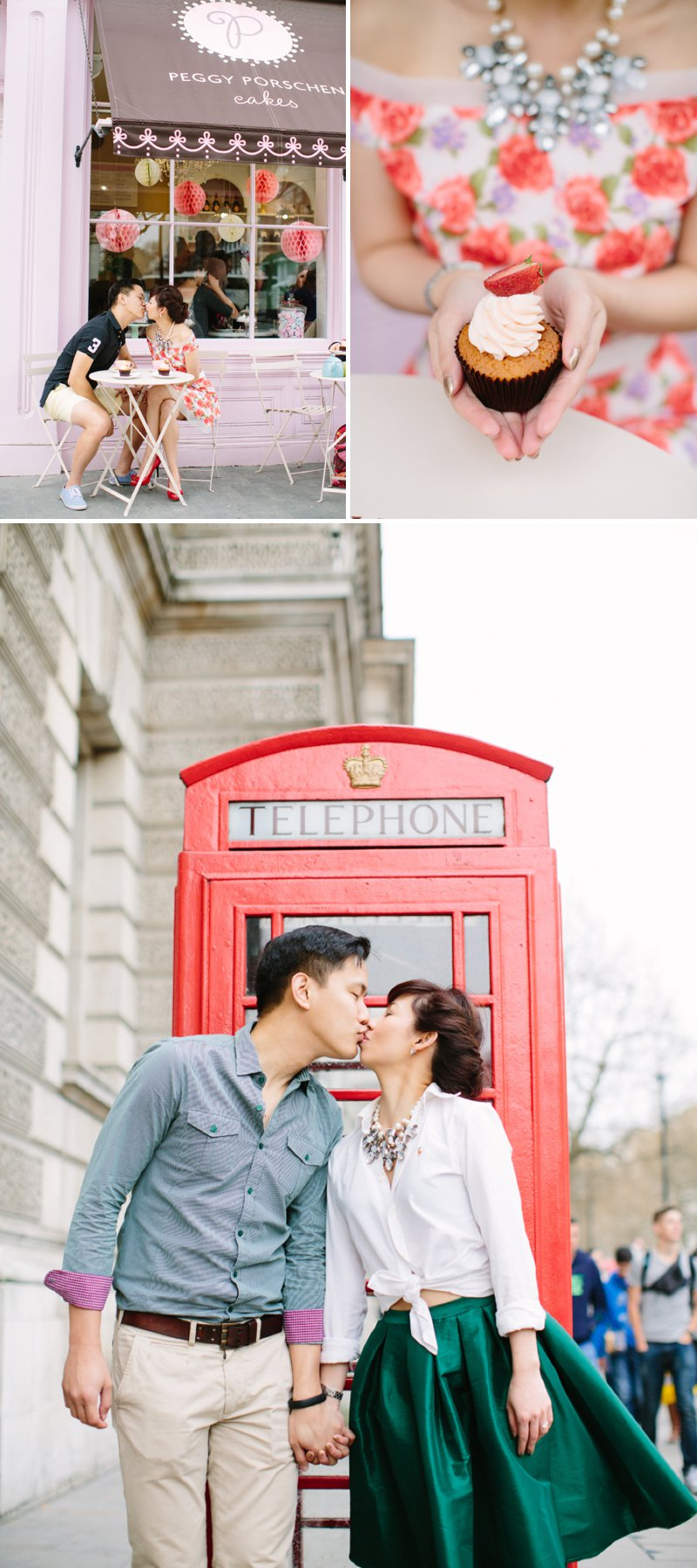 London Engagement Shoot Featuring The Houses Of Parliament, The London Eye And Peggy Porschen Cakes 7