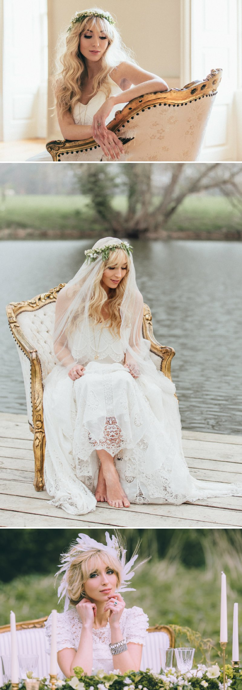 Rustic Bridal Shoot From Coco Venues And Katrina Otter Weddings And Events Inspired By The Promise Of Spring At Narborough Hall Gardens With Dresses From Rue De Seine Bridal With Images From Rebecca Goddard 1