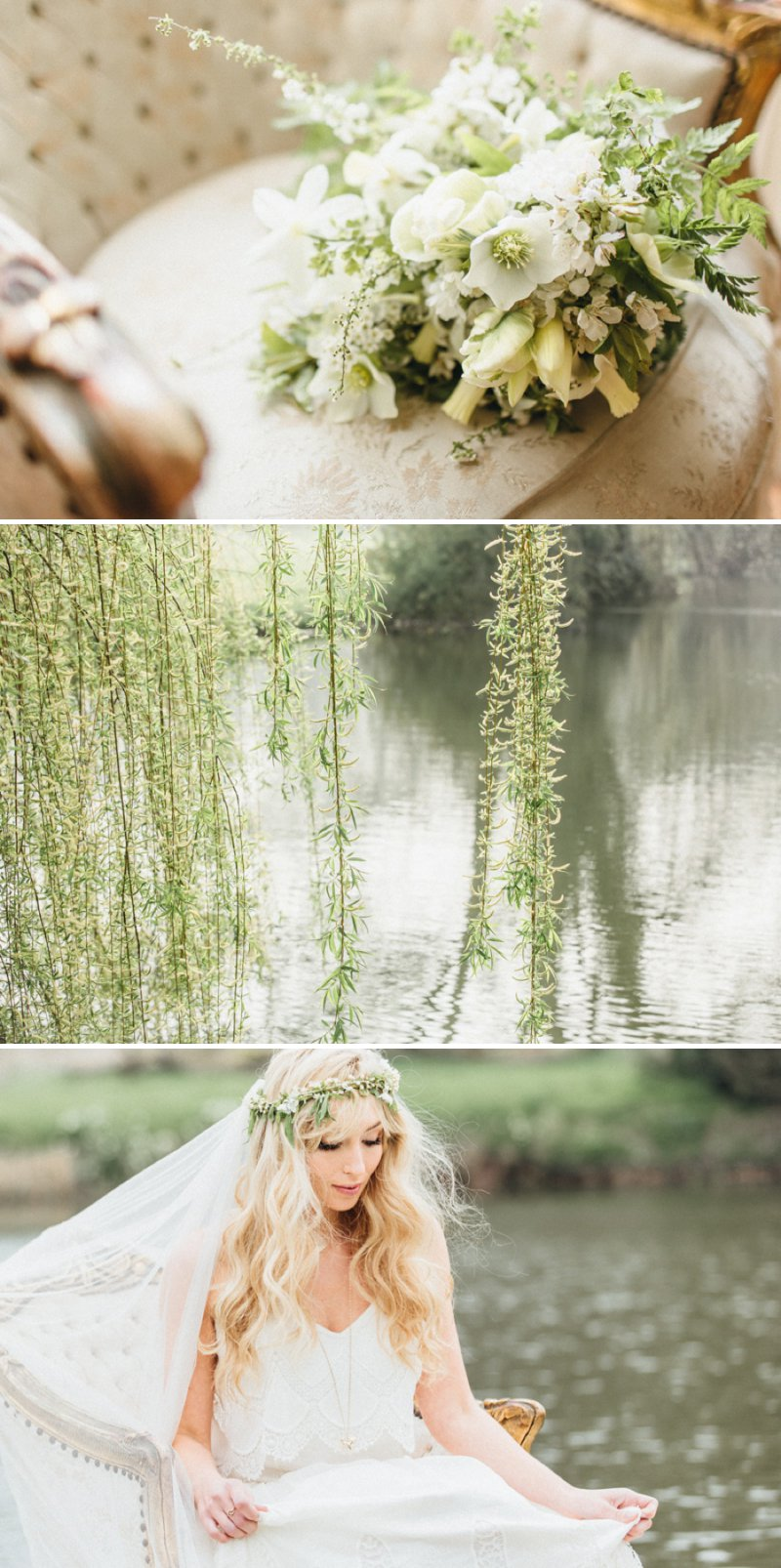Rustic Bridal Shoot From Coco Venues And Katrina Otter Weddings And Events Inspired By The Promise Of Spring At Narborough Hall Gardens With Dresses From Rue De Seine Bridal With Images From Rebecca Goddard 2