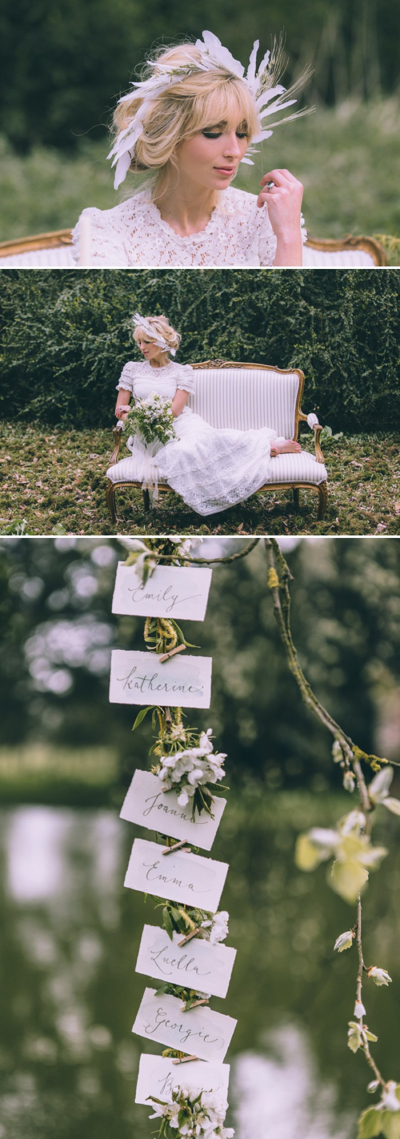 Rustic Bridal Shoot From Coco Venues And Katrina Otter Weddings And Events Inspired By The Promise Of Spring At Narborough Hall Gardens With Dresses From Rue De Seine Bridal With Images From Rebecca Goddard 5