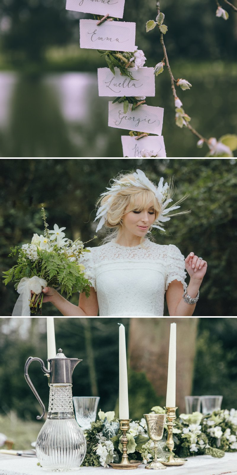 Rustic Bridal Shoot From Coco Venues And Katrina Otter Weddings And Events Inspired By The Promise Of Spring At Narborough Hall Gardens With Dresses From Rue De Seine Bridal With Images From Rebecca Goddard 6