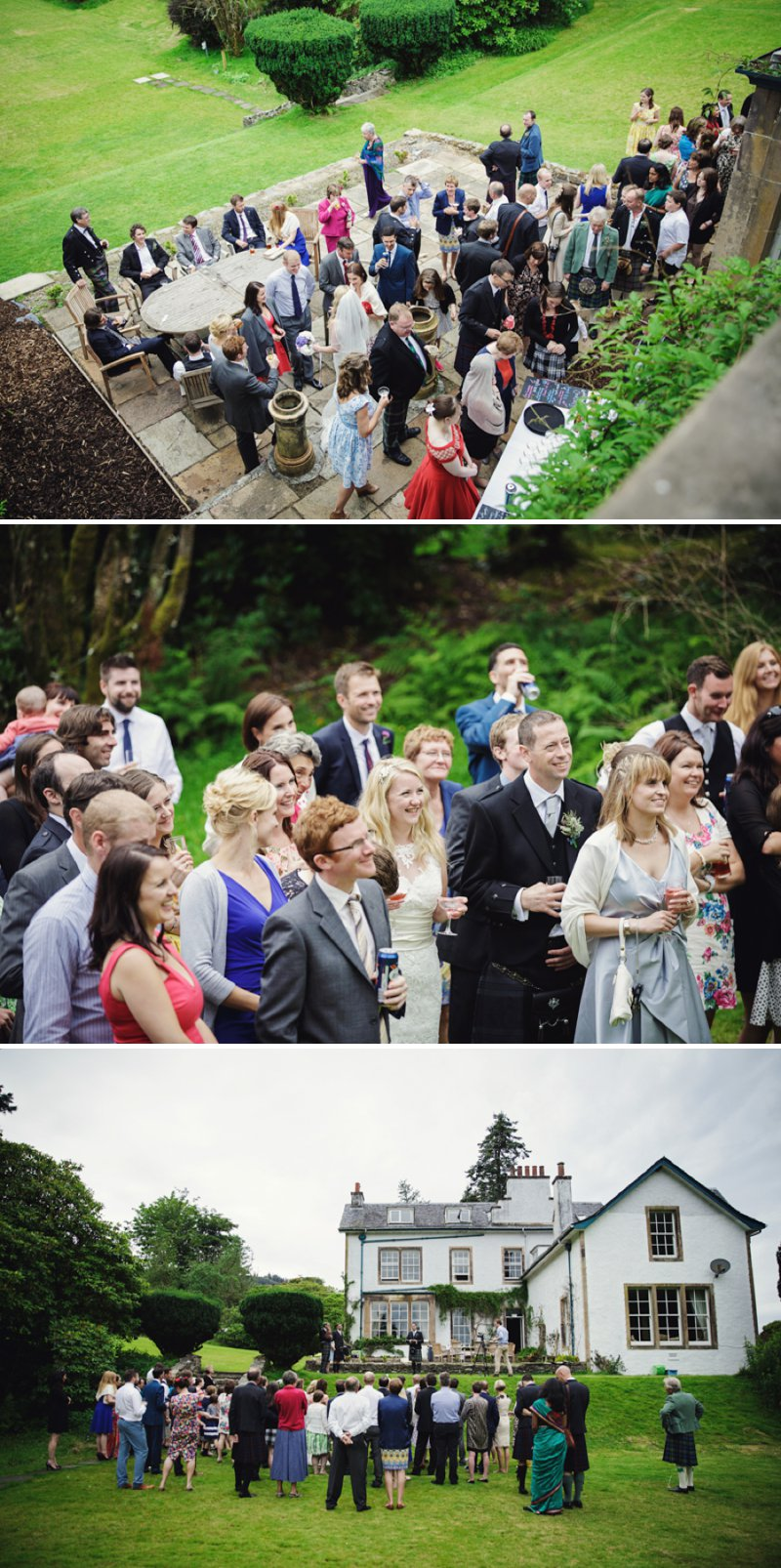 Rustic Scottish Beach Wedding With Bride In Justin Alexander And Vivien Of Holloway And Groom In Kilt With Bridesmaids In 50s Style Gowns With A Traditional Scottish Ceilidh 9