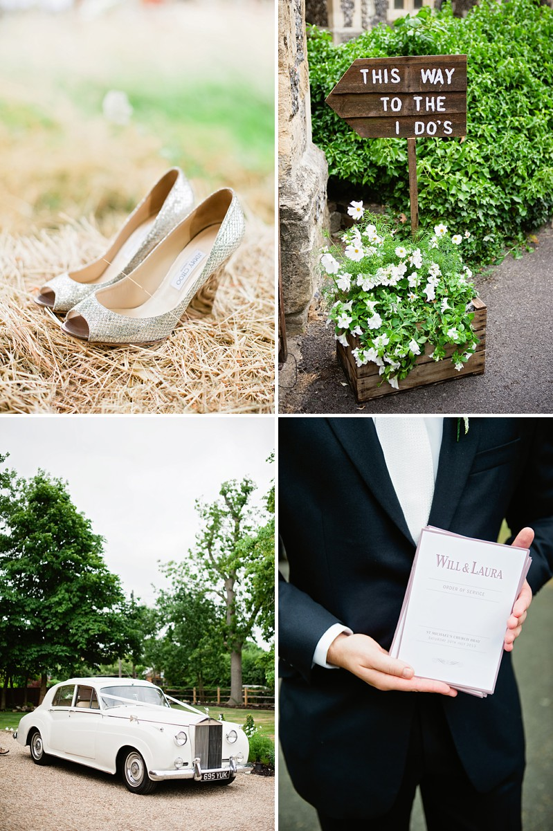 A Contemporary And Modern Garden Marquee Wedding With A Green And White Colour Scheme And A Stephanie Allin Dress And Jimmy Choos With Photography By Dominique Bader._0001