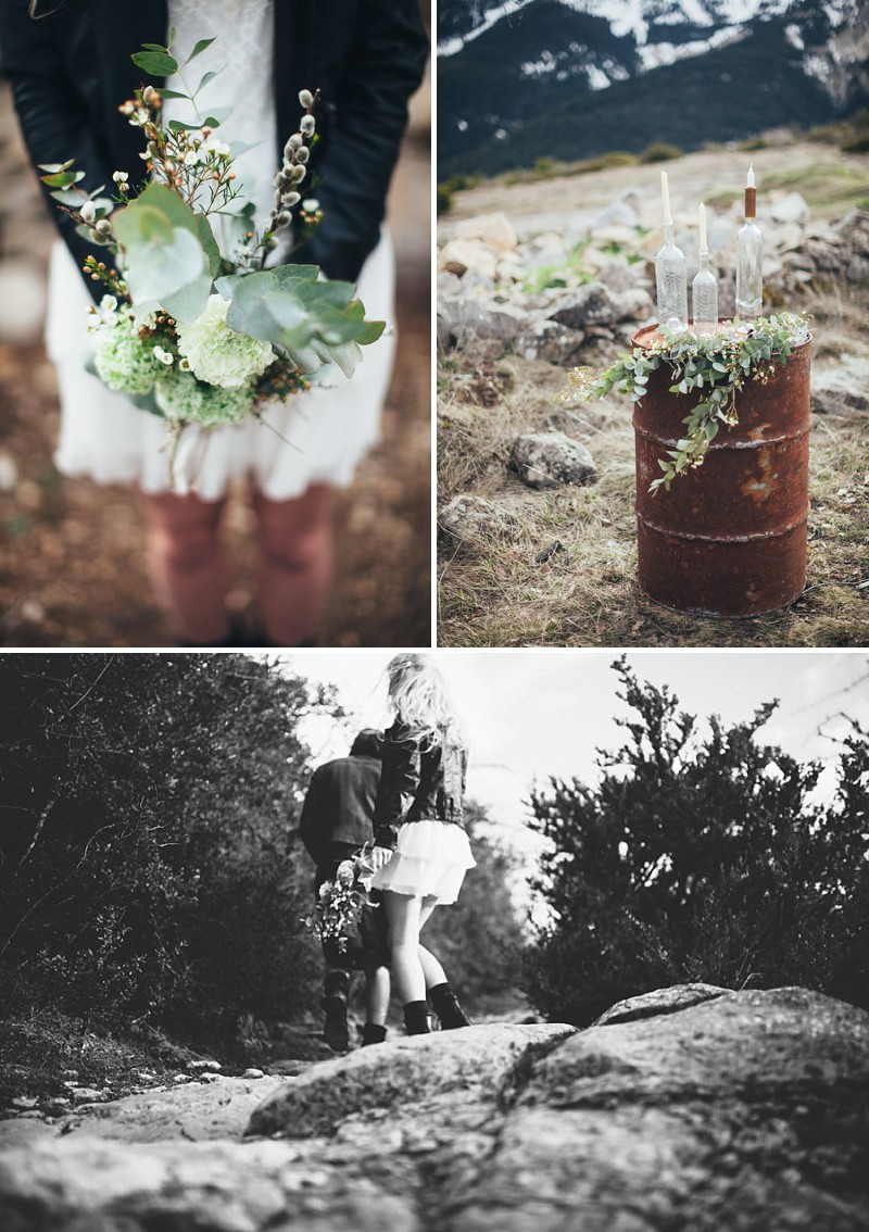 A French wedding alternative inspiration shoot in the mountains with a kilt_0187