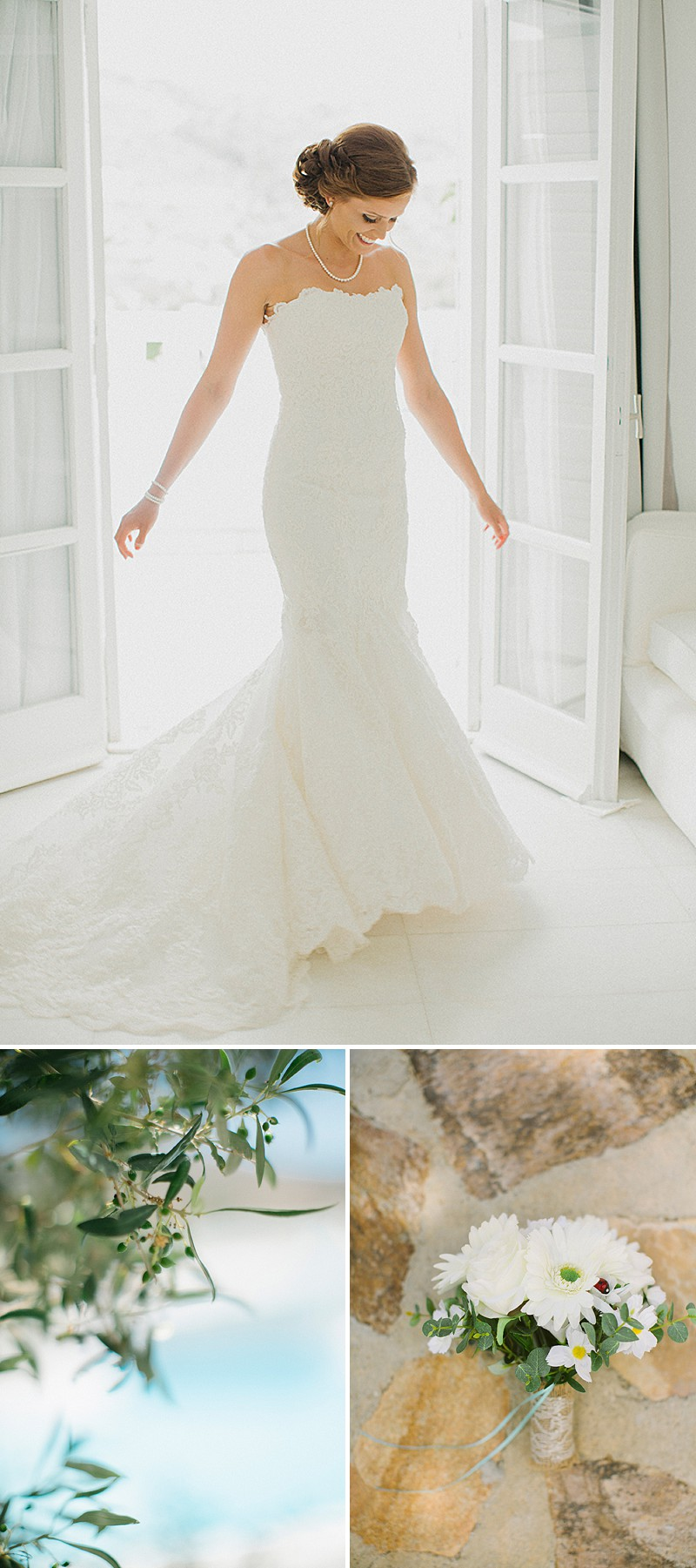A Greek Destination Wedding On Tzamaria Beach In iOS With A Enzoani Dress And Peach Bridesmaid Dresses With Photography By Anna Roussos._0001
